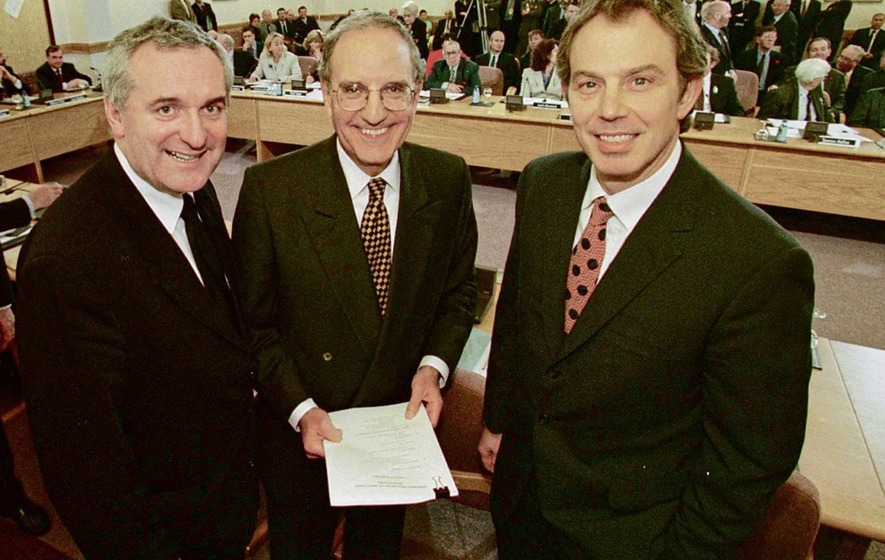 Ceremonies mark 20th anniversary of Good Friday Agreement