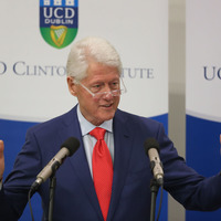 Bill Clinton: Northern Ireland in danger of going back to hell instead of going into a future