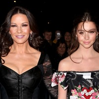 Catherine Zeta-Jones and daughter steal show at New York fashion event
