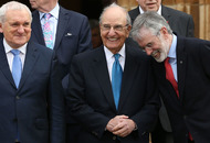 George Mitchell hails 'heroes and peacemakers' of Good Friday Agreement