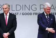 Watch live: Bill Clinton, Tony Blair, Bertie Ahern speak at Good Friday Agreement anniversary event at Queen's University Belfast