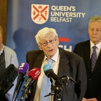 Seamus Mallon speaks of sadness and anger at current state of politics