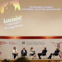 Anecdote, analysis and nostalgia mark Good Friday Agreement anniversary celebrations