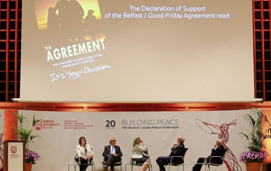 Anecdote Analysis And Nostalgia Mark Good Friday Agreement