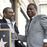 Jordan Peele celebrates 'legend' Tracy Morgan at Hollywood Walk of Fame ceremony