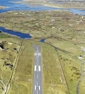 County Donegal airport is voted world's most scenic
