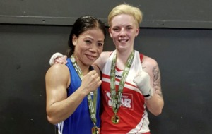 Koming to get you: Kristina O'Hara ready to meet Indian legend Mary Kom again on the big stage