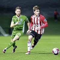 Derry City's Jack Doyle relishing the visit of Waterford