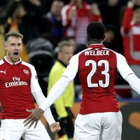 Arsenal survive a scare in Moscow to reach Europa League semi-final