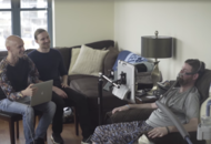Watch the emotional moment MND campaigner gets his own voice back thanks to new technology