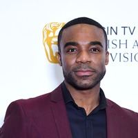 Ore Oduba's Strictly trophy takes pride of place – in his loo
