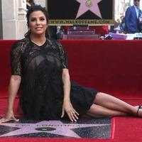 Eva Longoria honoured with star on Hollywood Walk of Fame