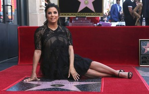 Eva Longoria honoured with star on Hollywood Walk of Fame