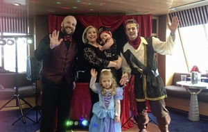 Marie Louise McConville: Fun and frolics at sea for a little princess and pirate