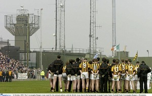 Speculation mounting that British army set to withdraw from Crossmaglen GAA pitch it has occupied for 20 years