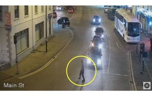 Video: CCTV captures final sightings of murder victim Piotr Krowka