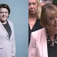This can't keep happening! – Harriet Harman jests with Maria Miller on accidentally matching outfits