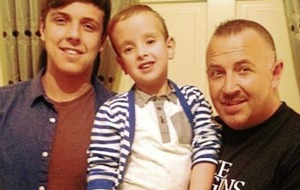 Losing son 'worst night of our lives' says trucker raising funds for bereaved parents