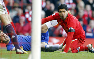 On This Day, April 21, 2013: Liverpool striker Luis Suarez back in the headlines for the wrong reasons