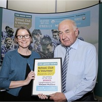 Loughinisland man Vincent leading the way for the GAA volunteers