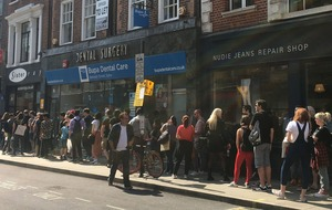 Vinyl fans queue overnight for Record Store Day releases