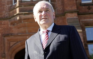Bertie Ahern walks out of TV interview after Mahon Tribunal questions