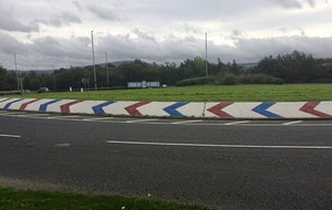 Limavady roundabout daubed with 'sectarian colours'