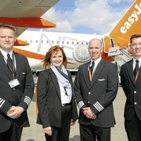 EasyJet showcases its new Airbus A320neo at Belfast