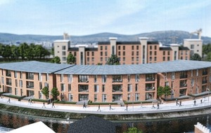 Plans submitted for new £6m apartment complex near CS Lewis home