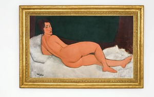 Modigliani nude sets new record for auction estimate