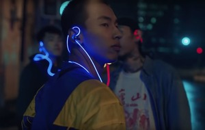 These light-up earphones are what listening to music in the future looks like