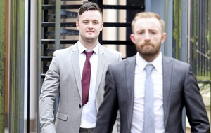 Tasker and McCooey decline to give evidence in their defence