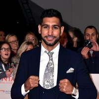 I'm A Celeb co-stars congratulate Amir Khan on birth of second child