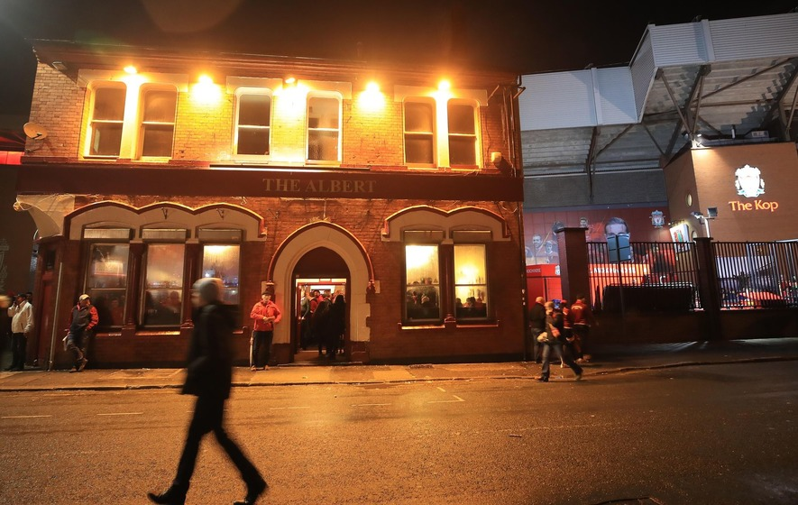 Two arrested after Irish Liverpool football fan left fighting for his life
