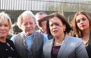 Video: Sinn Féin leader Mary Lou McDonald criticised for use of term 'Londonderry'