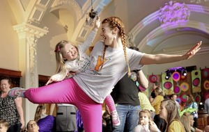 Marie Louise McConville: Having a ravin' good time with the kids