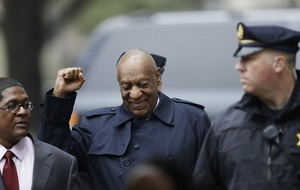 Bill Cosby at court as jurors begin their deliberations