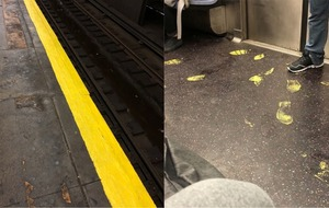 This terrible moment to paint a subway station had very predictable results