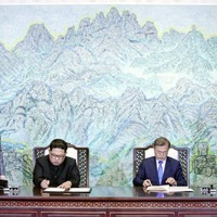 North and South Korea agree to get rid of nuclear weapons