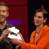 Calvin Harris and Dua Lipa hold off Ariana Grande to stay at number one