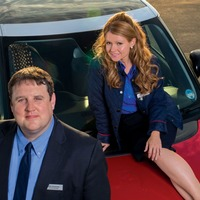 Trailer for unscripted Car Share episode shows Peter Kay and Sian Gibson singing