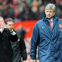 Wenger and Ferguson shared a pre-match moment and it warmed everyone's hearts