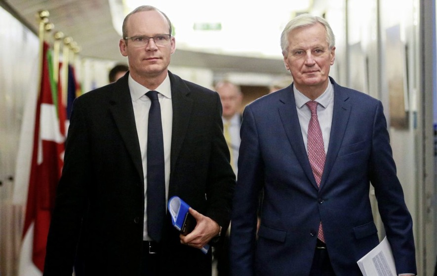 Michel Barnier in Ireland: Brexit talks at 'risk' over Irish border issue