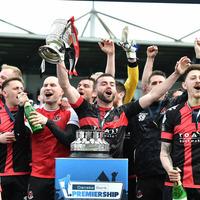 Crusaders pip Coleraine on dramatic last day of Irish Premiership title race