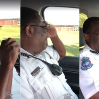 This police officer's last radio call before retirement will leave you in tears