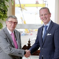 Robert J Cooper signs off as H&W boss after 44 years at shipyard