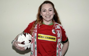 Cliftonville fan Caoimhe O'Connell continues rich Reds tradition