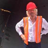 Branson plans to deliver freight 'at speed of flight' using hyperloop