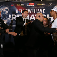 Picture gallery: Tensions boil over at David Haye v Tony Bellew pre-fight press conference