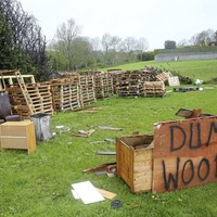 Calls for Tyrone bonfire material to be removed